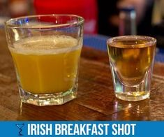 The Irish Breakfast shot is a quick and easy shot to make which some say tastes just like a pancake or French toast, serve it with a side of bacon. Sunday Breakfast, Christmas Breakfast, How To Make Breakfast, Best Breakfast, Christmas Brunch, Breakfast Ideas, Breakfast Recipes, Irish Breakfast Shot Recipe, Irish Breakfast Tea