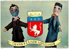LE THÉÂTRE DE GUIGNOL.....LYON......FRANCE........SOURCE DELCAMPE.NET.......