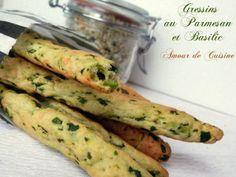 recette de gressins : très facile - Amour de cuisine