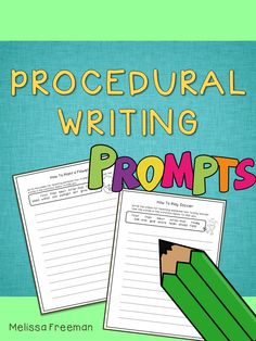 20 writing prompts and 2 life cycle cut and paste writing activities for primary students.