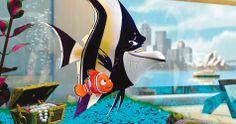 Khan und Nemo planen den Ausbruch I Findet Nemo   In Disney Digital 3D   #Nemo ©Disney•Pixar