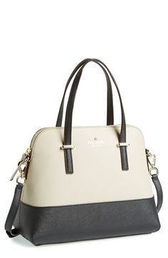 kate spade new york 'cedar street - maise' satchel available at #Nordstrom  *** in BLACK***