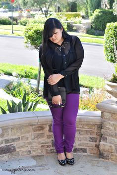 What I Wore 10.02.12    #plussizefashion #fashion #ootd  Curvy Girl Chic - Plus Size Fashion and Style Blog: all in the details
