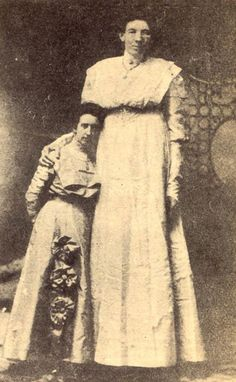 """Ella Kate Ewing was born March 9, 1872, and died January 10, 1913. She stood 8' 4"""". She used her great height to earn a living as a sideshow attraction, popularly known as """"The Missouri Giantess."""""""