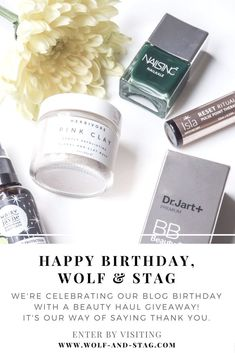b78c39e0d9b Happy Birthday, Wolf   Stag. We re celebrating our blog s birthday with a