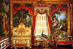 Neuschwanstein Castle Interior | The tour of the main palace was DM 8 perperson (about $3.50). The ...