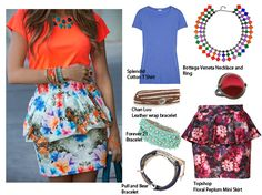 Dare to Flare Spring Trends, Dares, High Waisted Skirt, Peplum, Loft, Blouse, Casual, Fabric, Skirts