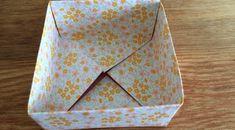 Taittele paperista origami-laatikko!   artisokka