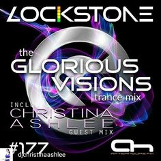Cool!! Credit to @djchristinaashlee : An amazing show today as my guest mix aired on Glorious Visions of Trance with Lockstone on Afterhours.FM! I'm so stoked to share this mix with everyone 😆 Lockstone will be sharing the entire two hours in about a week, but if you head to my Mixcloud (link in bio) you can hear my one hour set 🔊 I hope you enjoy! 😃 .  #trancefamily #djane #trance #music #dj #afterhours #radio #mixcloud #glorious #visions #instahot #party #rave #followme #trancegirl…