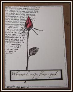Made by Myra..... with love: #CZC4 Zwart/wit plus een andere kleur