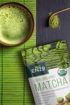 Enzo's Organic Matcha Green Tea 4oz with Free Shipping and Satisfaction Gaurantee http://amzn.to/262rVnp