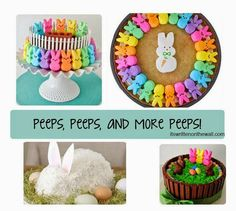 Ideas for Easter Treats & Crafts & Peeps! #Easter