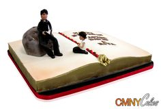 Pastor amp disciple bible birthday cake this stunning cake was created