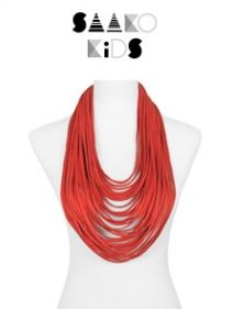 This orange children's scarf-lace is the perfect color for the fall season. Or maybe perfect to go pumpkin picking??