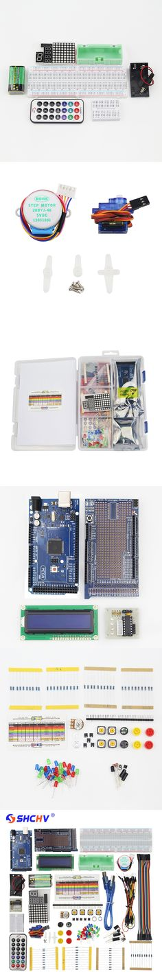 Demo Board & Accessories Super Mega Starter Kit For Lcd Led Sensor Servo Motor Sensor Module With Mega 2560 Project Learning Avr Mcu Learner Be Novel In Design