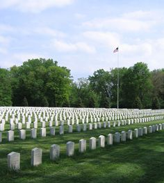 Rock Island National Cemetery - Rock Island, Illinois.  It rivals Andersonville in terms of suffering and loss of life, but you rarely hear about it.
