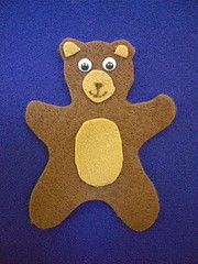 "Felt board and ""Three little bears"" storytime"