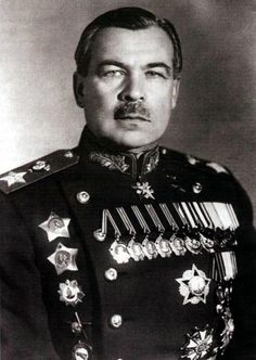 Маршал и Герой СССР Леонид Говоров, защищавший Родину в ходе трех войн.
