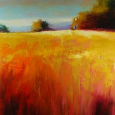 Glimpse of Yellow - Marla Baggetta Pastel Paintings Pastel Landscape, Abstract Landscape Painting, Landscape Art, Landscape Paintings, Scenary Paintings, Paintings I Love, Pastel Paintings, Horse Paintings, Pastel Artwork