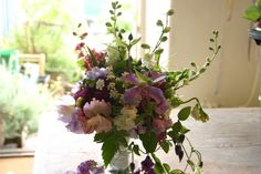 bride's bouquet for an early august wedding by www.commonfarmflowers.com - all English country flowers grown in Somerset