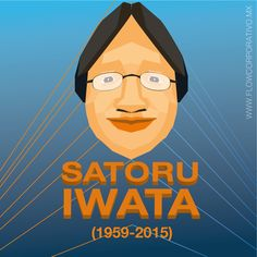 """""""En mi tarjeta de presentación, soy presidente corporativo. En mi mente, soy desarrollador de juegos. Pero en mi corazón, soy un gamer."""" Satoru Iwata. #talento"""