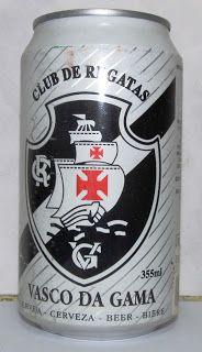 LATAS Y BOTELLAS COLECCIÓN: VASCO DA GAMA BEER BRASIL 1996