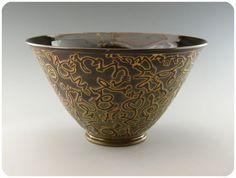 Jim Gottuso - etched bowl