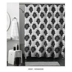 14-Piece Set: Ultra-Plush Memory Foam Bath Mat with Shower Curtain & Hooks - Assorted Colors