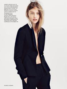 Sasha Pivovarova For Vogue UK July 2014 - Be Modish