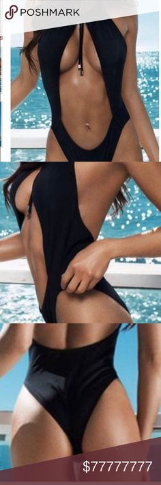 Monokini 🔥COMING SOON sexy monokini can be worn to pool parties in Miami, Vegas or wherever you choose.  Not excepting offer yet but will tag you if interested Swim One Pieces