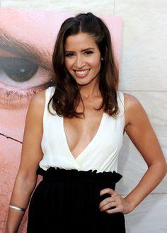 Mercedes Masohn Actor at Dexter Premiere