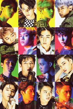 #EXO  #Power #TheWar album