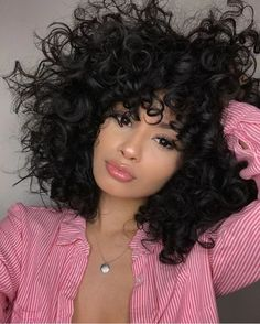 Cute curly hairstyles wigs for black women lace front wigs human hair wigs african american wigs Curly Hair Styles, Cute Curly Hairstyles, Short Curly Hair, Wig Hairstyles, Natural Hair Styles, Hairstyle Ideas, Girls With Curly Hair, Wedding Hairstyles, Curly Haircuts