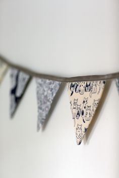 Love the pennant decoration