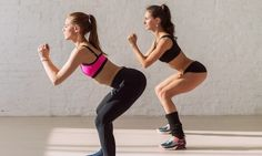 If you're short on time and need to get a workout in quickly, you can firm up and slim down with this total body HIIT routine! Hiit, Musa Fitness, Body Fitness, Dance Fitness, Corps Pour Bikini, Leg Strengthening Exercises, Butt Challenges, Fit Girl Motivation, Bikini Body Motivation