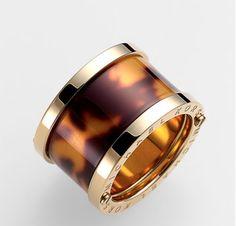 Michael Kors Sleek Exotics Barrel Ring ($63.75 on sale)