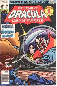 TOMB OF DRACULA 66 VG COMICS BOOK @ niftywarehouse.com #NiftyWarehouse #Dracula #Vampires #ClassicHorrorMovies #Horror #Movies #Halloween #Vampire