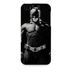Dark Knight-Batman Black  Apple I phone 4 & 4S case (Officially Licensed)
