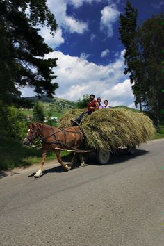 Europe: Romania----what a beautiful place Bulgaria, Places To Travel, Places To See, Beautiful World, Beautiful Places, Poland Culture, Horse Drawn Wagon, Central And Eastern Europe, Country Life