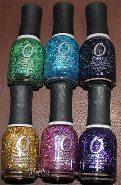 Orly Flash Glam FX Nail Polishes Swatches & Review