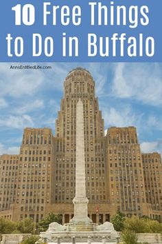 There is a lot to see and in Buffalo, New York that will not cost your family any money. Whether you live in Buffalo and want something cheap to do on the weekend, are visiting for the first, or fiftieth time, there is always a great new. Buffalo City, Buffalo New York, York Things To Do, Free Things To Do, Delaware Park, Beer Images, Shakespeare In The Park, Mirror Lake, Weekend Activities