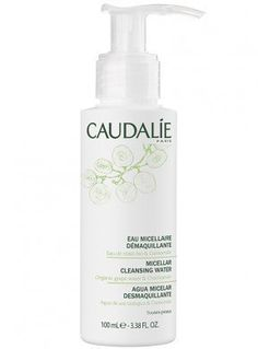 Micellar Cleansing Water by Caudalie. Natural soap-free product to remove makeup and cleanse skin. Gentle micellar water to soothe sensitive skin. Eye makeup remover for all skin types. Cleanser And Toner, Face Cleanser, Micellar Water, Lighten Skin, Sensitive Skin Care, Make Up Remover, Body Makeup, Eye Makeup Remover, Makeup Tips