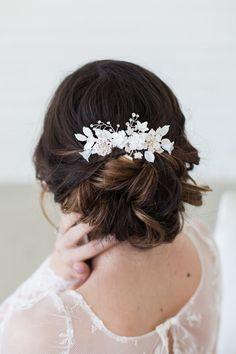 Wedding Headpiece Wedding Hair Accessories by GildedShadows