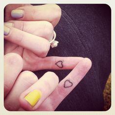 best friend, mom/daughter, sister pinkyswear tattoo .. too cute!