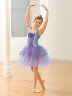 Sweet Nightingale - Style 0495 | Revolution Dancewear Ballet Dance Recital Costume