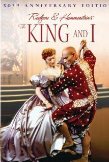 1956 ~ with Deborah Kerr & Yul Brynner: Anna Leonowens is one feisty teacher when she arrives in Bangkok to teach the King's children. Fun musical and when all is said and done (and sung) everyone learns a lesson or two. :)