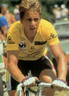 Tour de France 1986, 1989 and 1990. Greg Lemond.