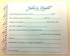 ;) simple & fun to read later... Found on Weddingbee.com Share your inspiration today!