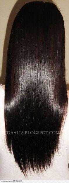 Jeśli twoje włosy są zniszczone i suche: Na zniszczone… Glossy Hair, New Hair, Hair Inspiration, Beauty Hacks, Hair Care, Hair Makeup, Hair Beauty, Make Up, Hairstyle
