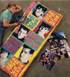 Sleepover at your BFF's? Don't forget your NKOTB sleeping bag. | 43 Signs That You Were And Still Are An Obsessed New Kids On The Block Fan